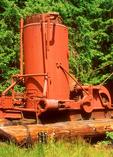 Steam Donkey, Camp 6 Logging Museum, Point Defiance Park, Tacoma, Washington