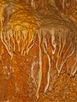Flowstone, Limestone Cave Formation, Jewel Cave National Monument, South Dakota