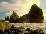 Sea Stacks and Ruby Beach, Olympic National Park, Washington