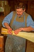 Broom Maker, Old Sturbridge Village, Sturbridge, Massachusetts