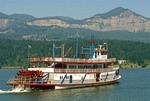 Columbia Gorge Sternwheeler, Columbia River Gorge National Scenic Area, Cascade Locks, Oregon
