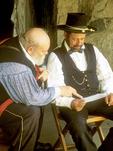 General Grant and Aide, Civil War Reenactors