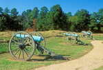 Cannons at Fort Stedman, Battle of Hare's Hill, Petersburg National Battlefield, American Civil War, Virginia