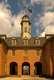 Colonial Capitol, House of Burgesses, 18th Century Colonial Architecture, Colonial Williamsburg, Virginia