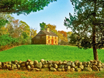 William Smith House, 18th Century Colonial Architecture, Minuteman National Historical Park, Lexington, Loncoln, Concord, Massachusetts