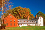 Dwight House and Farm, Historic Deerfield, Deerfield, Massachusetts