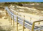 Boardwalk Over Sand Dunes, Parker River National Wildlife Refuge, Plum Island, Newburyport, Massachusetts