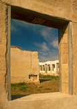 Administration Building Ruins, Fort Laramie National Historic Site, Oregon Trail, Torrington, Wyoming