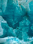 Blue Ice of Mendenhall Glacier, Juneau, Alaska