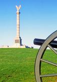 Civil War Cannon, New York State Monument, Antietam National Battlefield, American Civil War Battle of Antietam, Battle of Sharpsburg, Sharpsburg, Maryland