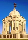 Pennsylvania State Memorial, American Civil War monument, Granite Beaux-arts Pavilion Crowned by a Dome, Gettysburg National Military Park, Gettysburg, Pennsylvania