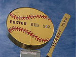 Boston Red Sox Fenway Park sign, Boston, MA