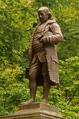 Ben Franklin Statue near Old City Hall, Boston, MA