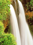 Wailua Falls, Wailua River State Park, Lihue, Kauai, Hawaiian Islands, Hawaii