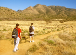 Hikers on Trail, Fort Bowie National Historic Site, Arizona