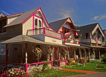 Gingerbread Houses, Oak Bluffs, Martha's Vineyard, Massachusetts