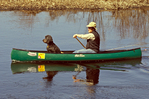 Canoeing with Pet Dog