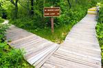 Trail Sign, Hellcat Swamp Trail, Parker River National Wildlife Refuge, Plum Island, Newburyport, Massachusetts