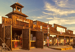 Storefronts and Fire Hall, Calico Ghost Town, Yermo, California