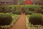 Garden, House of Seven Gables, Nathaniel Hawthorne, Salem, Massachusetts