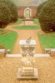 Sundial in Garden, Montpelier, President James Madison Plantation, Orange, Virginia