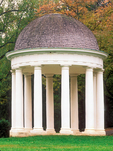 Neo-Classical Temple, Montpelier, President James Madison Plantation, Orange, Virginia