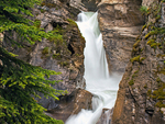 Lower Falls of Johnston Canyon, Johnston Creek, Canadian Rockies, Banff National Park, Alberta, Canada