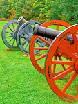 American Revolution Cannons, Saratoga National Historical Park, Stillwater, New York