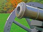 Revolutionary Cannon, Saratoga National Historical Park, Saratoga, New York