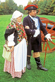 Loyalist Tory Couple, American Revolution, Saratoga National Historical Park, Saratoga, New York