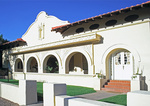 Steinfeld Mansion, Mission Revival Style, El Presidio Historic District, Tucson, Arizona