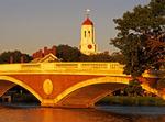 Pedestrian Footbridge, Charles River, Harvard University, Cambridge, Massachusetts