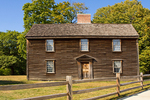 President John Adams Birthplace, Colonial Saltbox Architectural Style, Adams National Historical Park, Quincy, Massachusetts