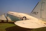 Historic Douglas C-47 Skytrain, Dakota, Military Transport Plane, Floyd Bennett Field, Gateway National Recreation Area, Brooklyn, New York