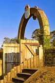 Fort Caroline National Memorial, Historic Gate, Timucuan Ecological and Historic Preserve, Jacksonville, Florida