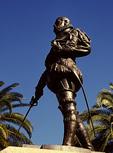 Don Pedro Menendez de Aviles Statue, Founder, St. Augustine, Florida