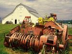 Hess Heritage Museum, Historic Barn and Tractor, 19th Century Pioneer Farm, Ashton, Idaho