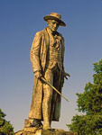 William Prescott Statue, Bunker Hill, Revolutionary War Hero, Freedom Trail, Boston National Historical Park, Boston, Massachusetts