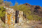 Gould Mine Stone Cabin, Sonoran Desert, Saguaro National Park, Arizona