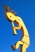 World's Largest Kokopelli, Southwestern Native American Fertility Deity, Humpbacked Flute Player, Krazy Kokopelli Trading Post, Arizona