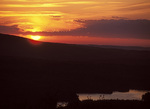 Sunset from Mt. Battie, Camden Hills State Park, Maine