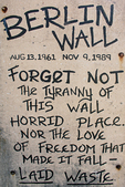 Berlin Wall Remnant, Old Port, Long Wharf, Portland, Maine