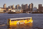 Super Duck Boat Tour, Boston Harbor and Skyline, Boston, Massachusetts