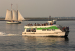 Island Discovery Ferry Boat, Liberty Clipper Sailboat, Boston Harbor, Massachusetts