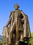 President Franklin Pierce Statue, Sculptor Augustus Lukeman, Concord, New Hampshire