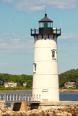 Fort Constitution Light, Portsmouth Harbor Lighthouse, Portsmouth, New Hampshire