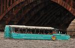 Duck Tour, Charles River, Boston, Massachusetts