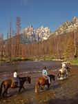 Horseback Riding in the Tetons, Grand Teton National Park, Wyoming