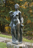 Female Statue, Marsh Billings Rockefeller Mansion, Woodstock, Vermont
