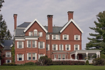 Marsh-Billings-Rockefeller Home, Queen Anne Style Mansion, Marsh-Billings-Rockefeller National Historical Park, Woodstock, Vermont